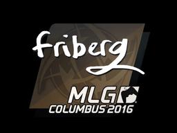 Sticker   friberg   MLG Columbus 2016