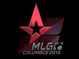 Sticker   Astralis (Foil)   MLG Columbus 2016