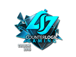 Sticker   Counter Logic Gaming (Foil)   Cologne 2016