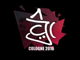 Sticker   chrisJ   Cologne 2016