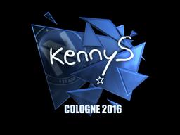 Sticker | kennyS (Foil) | Cologne 2016