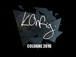 Sticker | k0nfig | Cologne 2016