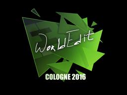 Sticker   WorldEdit   Cologne 2016