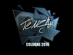 Sticker   TENZKI (Foil)   Cologne 2016