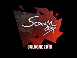 Sticker   ScreaM   Cologne 2016