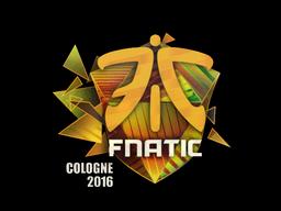 Sticker   Fnatic (Holo)   Cologne 2016