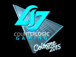 Sticker   Counter Logic Gaming (Foil)   Cologne 2015