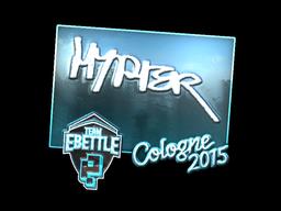 Sticker   Hyper (Foil)   Cologne 2015