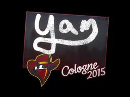 Sticker | yam | Cologne 2015