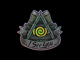 Sticker | I See You (Holo)