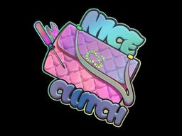 Sticker | Nice Clutch (Holo)