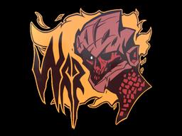 Sticker   War