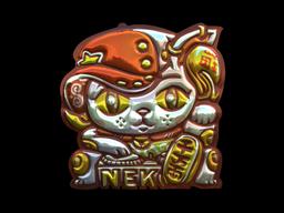 Sticker | Lucky Cat (Foil)