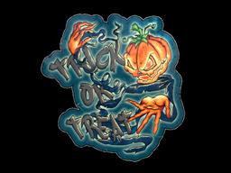 Sticker   Trick Or Treat