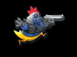 Sticker | SAS Chicken