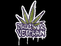 Sealed Graffiti | Drug War Veteran