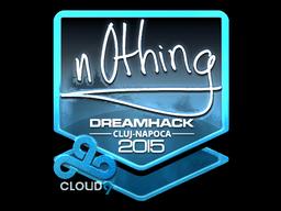 Sticker   n0thing (Foil)   Cluj-Napoca 2015