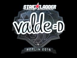 Sticker   v4lde (Foil)   Berlin 2019