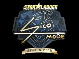 Sticker | Sico (Gold) | Berlin 2019