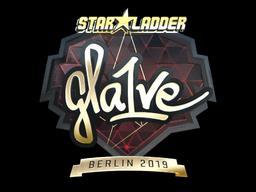 Sticker   gla1ve (Gold)   Berlin 2019