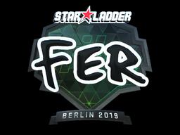 Sticker   fer (Foil)   Berlin 2019