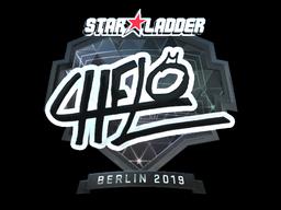 Sticker   chelo (Foil)   Berlin 2019