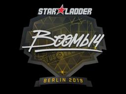Sticker   Boombl4   Berlin 2019