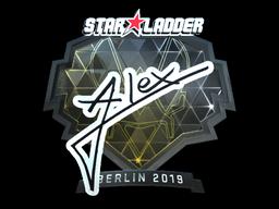 Sticker   ALEX (Foil)   Berlin 2019