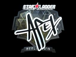 Sticker   apEX (Foil)   Berlin 2019
