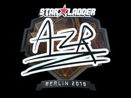 Sticker   AZR (Foil)   Berlin 2019
