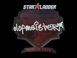 Sticker   olofmeister   Berlin 2019
