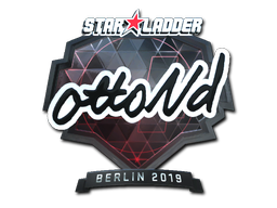 Sticker   ottoNd (Foil)   Berlin 2019