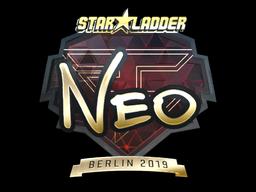 Sticker   NEO (Gold)   Berlin 2019