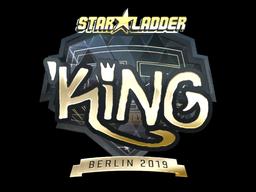 Sticker   kNgV- (Gold)   Berlin 2019