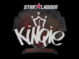 Sticker   kinqie   Berlin 2019