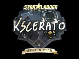 Sticker   KSCERATO (Gold)   Berlin 2019