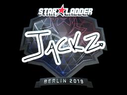 Sticker   JaCkz (Foil)   Berlin 2019