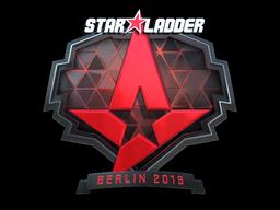 Sticker | Astralis (Foil) | Berlin 2019