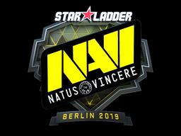 Sticker   Natus Vincere (Foil)   Berlin 2019
