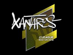 Sticker | XANTARES | Boston 2018