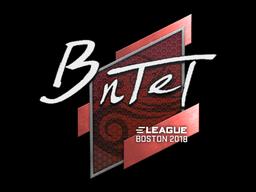 Sticker   BnTeT   Boston 2018