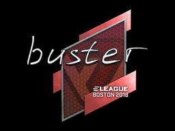 Sticker | buster | Boston 2018