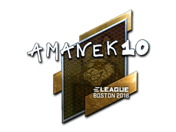 Sticker   AmaNEk (Foil)   Boston 2018