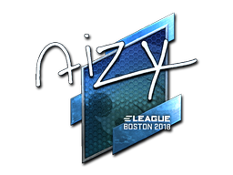 Sticker | aizy (Foil) | Boston 2018