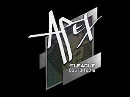 Sticker | apEX | Boston 2018