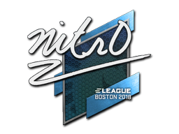Sticker   nitr0   Boston 2018
