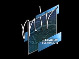 Sticker | mir | Boston 2018