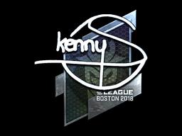 Sticker   kennyS (Foil)   Boston 2018