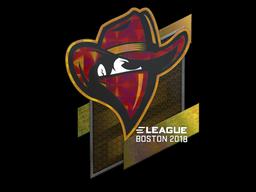 Sticker   Renegades (Holo)   Boston 2018