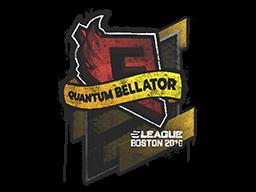 Sealed Graffiti | Quantum Bellator Fire | Boston 2018